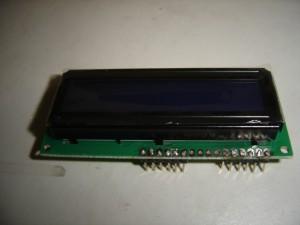 LCD 16x2 con Headers Soldados