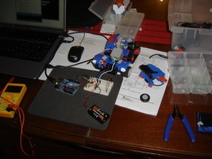 Control de Motor Rasti con Arduino