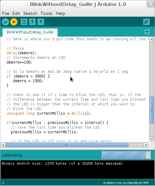 Arduino IDE 1.0 Gentoo Linux